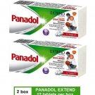 (2 PACKS) PANADOL EXTEND 665mg PARACETAMOL 12 TABLET - MUSCLE, BACK & JOIN PAIN