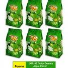 (6 PACKS) COCOALAND LOT 100 FRUITY GUMMY 150 gram - APPLE FLAVOR