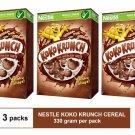(3 PACKS) NESTLE KOKO KRUNCH BREAKFAST CEREAL 330 gram