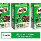 (3 PACKS) NESTLE MILO BREAKFAST CEREAL 330 gram