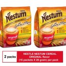 (2 PACKS) NESTLE NESTUM 3-IN-1 CEREAL ORIGINAL FLAVOR (15 packets X 28 gram)