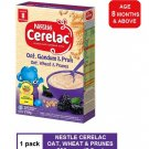 NESTLE CERELAC INFANT BABY CEREAL - OAT, WHEAT & PRUNES FLAVOR 250 gram (age 8 months+)