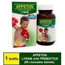 APPETON MULTIVITAMIN LYSINE WITH PREBIOTICS 60 CHEWABLE TABLETS Improve Appetite