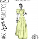 "1930's Evening dress (B34"") [VSV #39003] PDF sewing pattern"