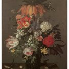 1172 Floral painting wall Art Decoration POSTER.Graphics to decorate home office