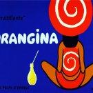2986.Orangina A La Pulpe D'Orange French Fashion Girl POSTER.Wall art decoration