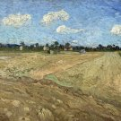 Decoration Poster.Ploughed fields.Van Gogh art painting.Home Room decor.11360