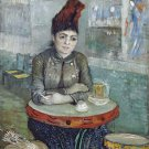 Decoration Poster.In the café.Van Gogh art painting.Home Room decor print.11356