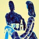 2987.Quarter Liquour French Fashion Girl POSTER.Wall art Modern decoration