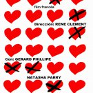 Movie Poster for French film Lover to FIT.Amante.Hearts.Home Wall Decor Art