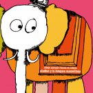 "Spanish movie Poster 4 animated film""""ALADDIN.Elephant""""Children room Decor art"