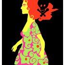 Movie Poster for Brazil film CARA A CARA.Redhead girl.Home room art decoration