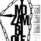 Political OSPAAAL Solidarity poster.Mozambique Freedom.Africa.Protest art.a16