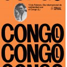 Political Solidarity POSTER.CONGO President Patrick Lumumba.Africa.Art.a61