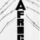 Political Solidarity POSTER.Arrow Spear Africa.a60.Anti-Colonialism protest Art