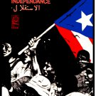 Political OSPAAAL POSTER.FREE Puerto Rico.Independent.Cold War Revolution Art.11