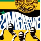 Political OSPAAAL Poster.Solidarity with ZIMBABWE.Africa anti-Apartheid art.a41