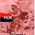 Political Cold War POSTER.NICARAGUA.Sandino.FSLN.Socialism History art.16