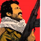 Political poster.Palestine FIGHTER.Muslim.Arab vs Israel.Cold War Art History.33