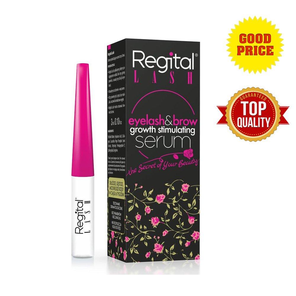 Regital Lashes Eyelashes EyeBrow Growth Long Serum Enhancer Thicker Biotebal 3ml