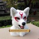 Custom Wolf Head Partial,Wolf Fursuit Head,Wolf Fur Head,Wolf Furry Head,Fursuit Fandom