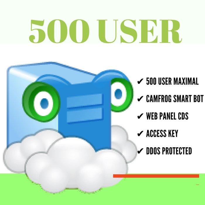 Camfrog Room Rental,  General ( 100 user )