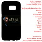 ANDREA BOCELLI TOUR Album Concert phone cases skins Cover