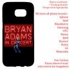 BRYAN ADAMS TOUR Album Concert phone cases skins Cover