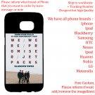 WE WERE PROMISED JETPACKS TOUR Album Concert phone cases skins Cover
