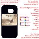 STEVE MILLER BAND TOUR Album Concert phone cases skins Cover