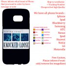 KNOCKED LOOSE TOUR Album Concert phone cases skins Cover