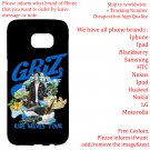 GRIZ TOUR Album Concert phone cases skins Cover