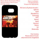 GWAR TOUR Album Concert phone cases skins Cover