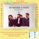 MUMFORD & SONS TOUR Album Pillow cases