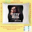 OZZY OSBOURNE TOUR Album Pillow cases