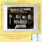 SHINEDOWN TOUR Album Pillow cases