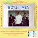 BOYZ II MEN TOUR Album Pillow cases