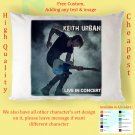 KEITH URBAN TOUR Album Pillow cases