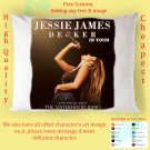 JESSIE JAMES DECKER TOUR Album Pillow cases