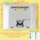 NEW SWITCHFOOT TOUR Album Pillow cases