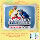 NAUGHTY BY NATURE TOUR Album Pillow cases