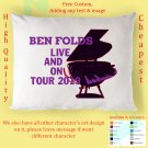 BEN FOLDS TOUR Album Pillow cases
