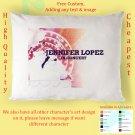 JENNIFER LOPEZ TOUR Album Pillow cases