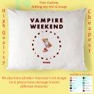 VAMPIRE WEEKEND TOUR Album Pillow cases