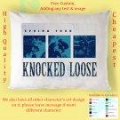 KNOCKED LOOSE TOUR Album Pillow cases