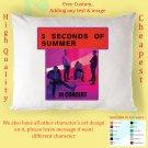 5 SECONDS OF SUMMER TOUR Album Pillow cases