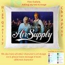 AIR SUPPLY TOUR Album Pillow cases