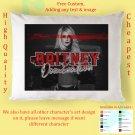 BRITNEY SPEARS DOMINATION TOUR Album Pillow cases