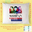 BILLY BRAGG ONE STEP FORWARD TWO STEPS TOUR Album Pillow cases
