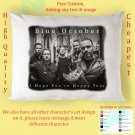 BLUE OCTOBER I HOPE YOU'RE HAPPY TOUR Album Pillow cases